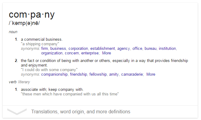 company-definition